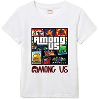 Forlcool Among Us Camiseta De Algodón Estampada para Hombres Y Niñas Estilo Universal
