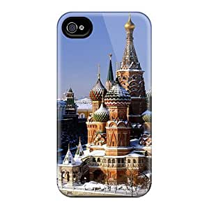 Brand New 4/4s Defender Case For Iphone (st Basils Cathedral)