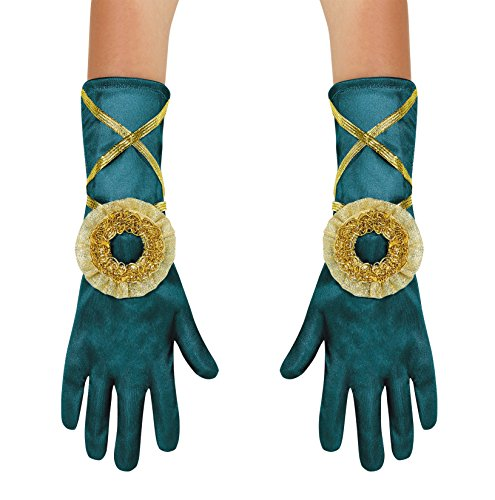 Disguise Merida Toddler Gloves Costume, Small (Up to Size 6) - Merida Costume Kids
