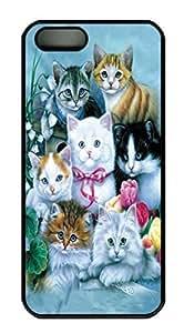 Kittens Custom PC Hard For SamSung Note 3 Phone Case Cover Black