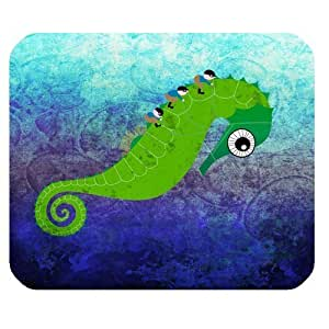 Cartoon Seahorse Personalized Rectangle Mouse Pad