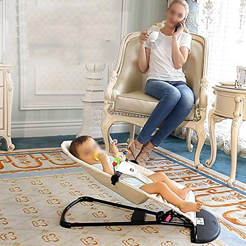 Bouncer Balance Soft, Baby Chair The Children's Bouncing Cradle (4 colors, Mesh) (Color : D) by BB Swings (Image #5)