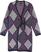 Tommy Hilfiger Women's Printed Toggle-Front Sweater Coat
