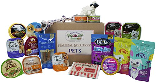 eed Dog Wet Food, Treats, and Toys Variety Gift Basket Adoption Box - 19 count ()