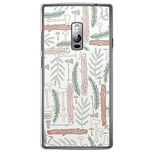 Loud Universe OnePlus 2 Green Wild 5 Printed Transparent Edge Case - Multi Color