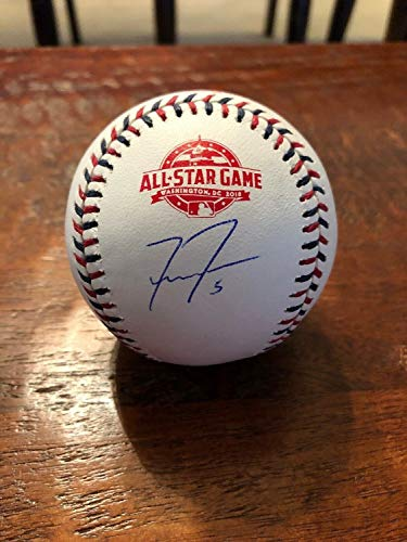 Freddie Freeman Autographed Signed 2018 All Star Baseball Memorabilia PSA/DNA Atlanta Braves - Certified Signature