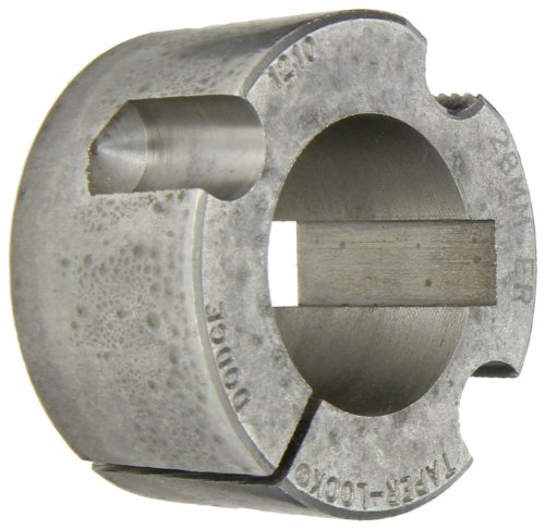 Gates 1210 28MM Taper-Lock Bushing, 28mm Bore, 1.0'' Length, 1.2'' Max Bore by Gates