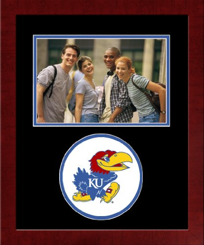 Campus Images NCAA Kansas Jayhawks University Spirit Photo Frame (Horizontal)