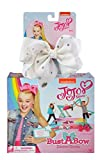 JoJo Siwa Bust A Bow Dance Game & Signature White Hair Bow with Rhinestones Set