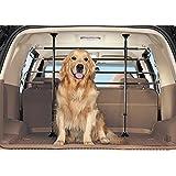 Ottima qualita' griglia separatrice deluxe per cani e animale domestici auto