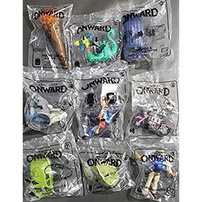McDs McDonalds 2020 Onward - Complete Set of 9 + Stickers (6): Toys & Games
