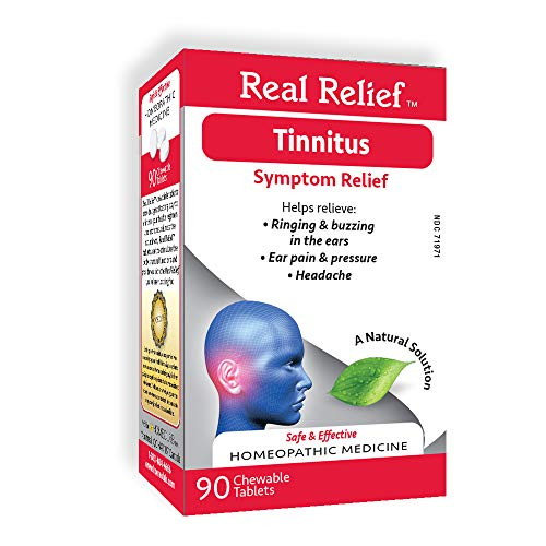 Real-Relief-Tinnitus-Homeopathic-Tablets-Ringing-Buzzing-in-Ears-Ear-Pain-Pressure-Headache-90-Count