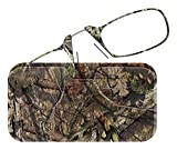 ThinOPTICS Reading Glasses + Universal Pod Case | Camouflage Collection, Mossy Oak Break-Up Country, 2.50 Strength, Lifetime Guarantee