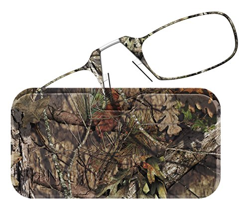 - ThinOptics Reading Glasses + Universal Pod Case | Camouflage Collection, Mossy Oak Break-Up Country, 2.00 Strength