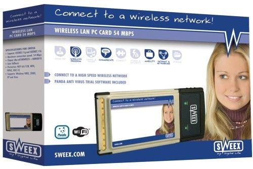 Carte Wi-Fi PCMCIA 54G