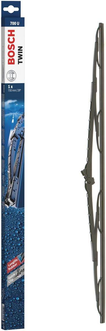 Bosch Scheibenwischer Twin700u Länge 700mm Einzelner Scheibenwischer Für Frontscheibe Auto