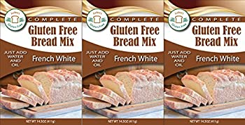 Judee's Gluten Free Bread Mix (3 French White Mixes)