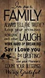 P. GRAHAM DUNN Family Forgive Laugh Love Birds on a Limb 24 x 14 Wood Pallet Wall Art Sign Plaque Review