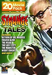 strange tales 20 movie pack 4 dvd amazonca dvd