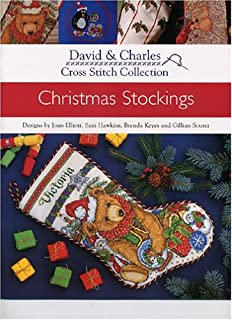 cross stitch collection christmas stockings