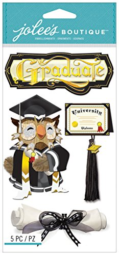 Jolee's Boutique Dimensional Stickers, Graduation