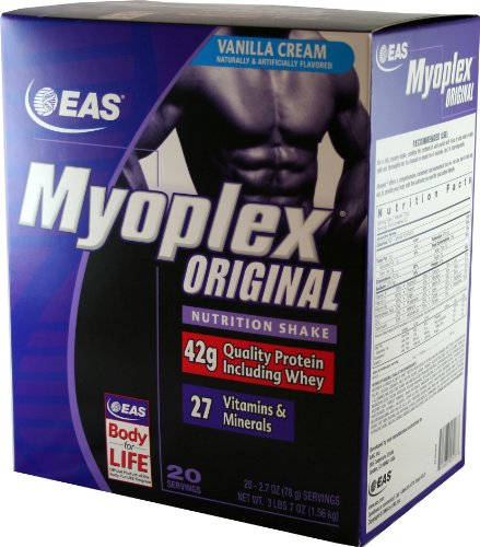EAS Myoplex Vanilla Cream packets
