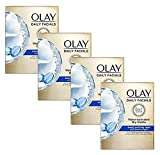 Olay Daily Deeply Clean 2-in-1 Water Activated Cleansing Face Cloths 33ct (Pack of 4)
