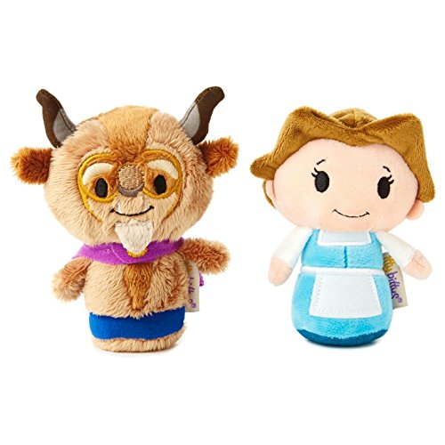Beast Plush - Hallmark itty bittys Beauty and the Beast 25th Anniversary Set
