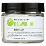 Schmidt's Deodorant - Bergamot and Lime (All-Day Protection and Wetness Relief; Aluminum-Free)