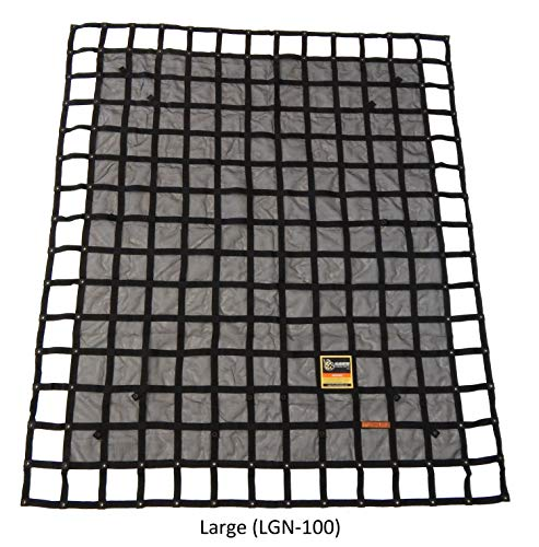 (Gladiator Cargo Net - Heavy Duty Truck Cargo Net - Large (LGN-100) 8.75' x 10' ft.)