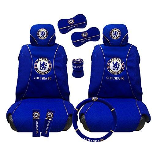 Chelsea Football Club Auto Interior Set (Premier Collection) 10 items