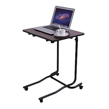 Genérico * Cuaderno de sobremesa de ordenador portátil con altura ajustable inclinación móvil y altura inclinable