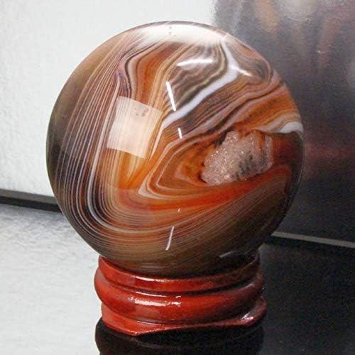 【一点物 51mm玉】 瑪瑙 丸玉 水晶玉 球体 原石 Ball 大玉 丸玉 玉 球 agate アゲート メノウ 魔除け 置物 浄化用 お守り 厳選 一点物 天然石 パワーストーン a19851