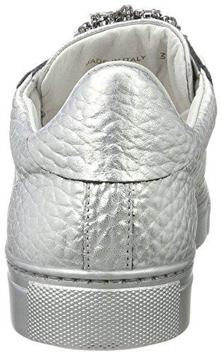 Zapatillas Plateado Stokton Mujer Argento Sneaker para 5aq0F