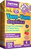 Jarrow Formulas Yum-Yum Dophilus Supports Gastrointestinal Health Tablets, 120 Count