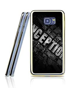 Film - Inception Funda Case For Galaxy S6 Edge Plus, Attractive Personalized Creative Style Flexible TPU 2 in 1 + Golden - Bordered Extra Slim Back Film Protector Skin For Samsung Galaxy S6 Edge Plus [Only Fit For S6 Edge Plus]