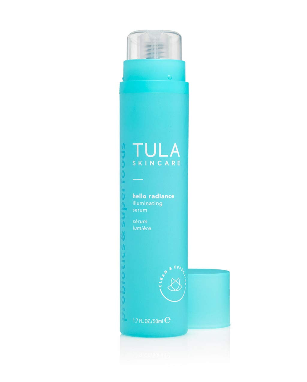 TULA Probiotic Skin Care Hello Radiance Illuminating Face Serum | Brightening Serum, Target the Appearance of Dark Spots and Hyperpigmentation | 1.6 oz.
