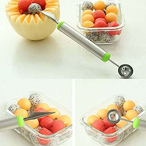 SOLOKA Dual Function Stainless Steel Fruit Salad