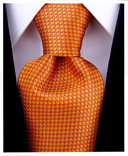 Geometric Ties for Men - Woven Necktie - Mens Ties Neck Tie by Scott Allan