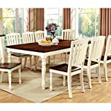 Cheap Furniture of America Pauline Cottage Style Dining Table