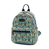 Fvstar Canvas Teen Girls Travel Backpack Cute Mini School Bag Printing Purse Rucksack