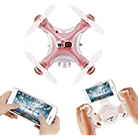 Mini Drone with Camera, Altitude Hold Quadcopter Dayan Anser Pocket RC WIFI Drone CX-10WD-TX Remote Control Helicpoter, One Key Take Off/Landing Aircraft