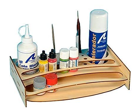 Colori Vernici Legno : Artesania latina 27648 p organizer in legno per vernici colori e