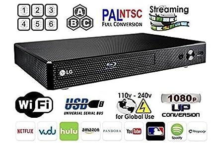 Peachy Amazon Com Lg Bp 350 Region Free Blu Ray Player Multi Region Smart Wiring Digital Resources Jebrpkbiperorg