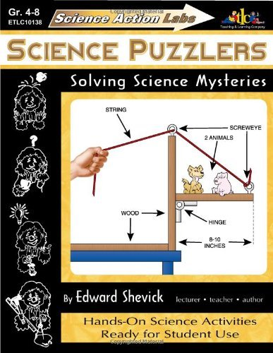 Download Science Action Labs - Science Puzzlers: Solving Science Mysteries by Edward Shevick (1998-01-28) pdf