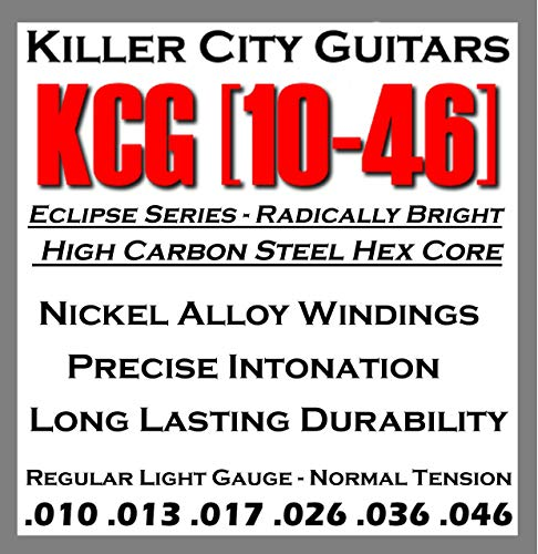 Killer City Guitars Eclipse Series Electric Guitar Strings - Regular Light Gauge