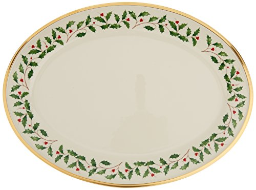 Lenox Holiday 16'' Oval Platter by Lenox (Image #3)