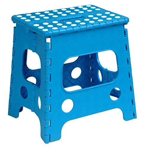 Superior Performance Inc Educational Products - Folding Stool 13In- Blue by Superior Performance Inc