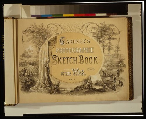 Photo: Photo of Gardner's photographic sketch book of the war, A.R. Ward, 1865?, Civil War . Size: 8