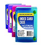 C Line 4x6 Index Card Case Supplies Supplies Cli58046 C-Line Products Inc